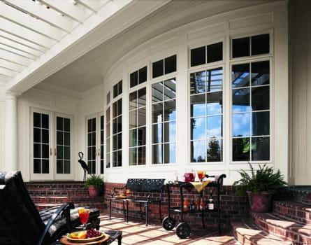 Casement window andersen windows casement for Anderson vinyl windows