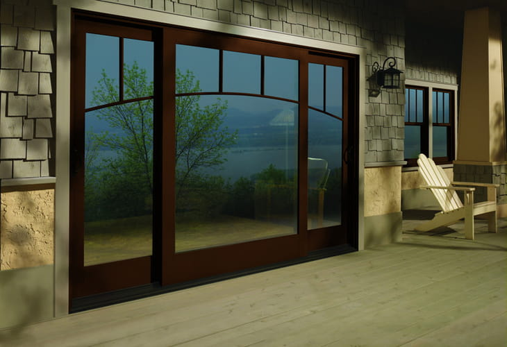 Products in showcase on andersen windows and doors for Andersen french doors